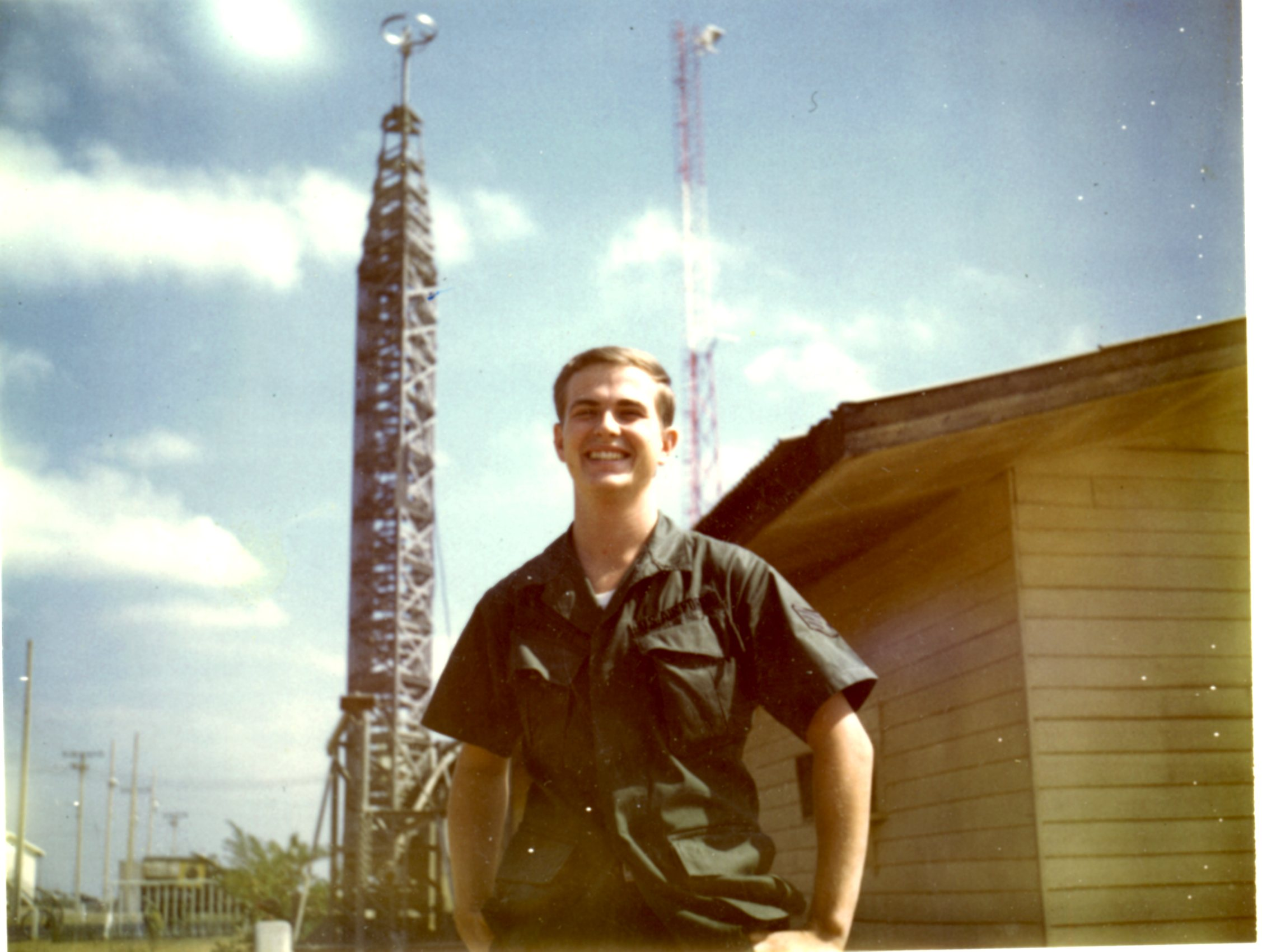 Terry Pochert - TV and FM Antennas at the Korat Royal Thai Air Force Base