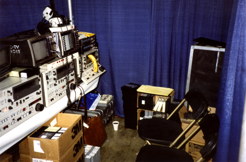 1988 Democratic National Convention - WXYZ Editing Area