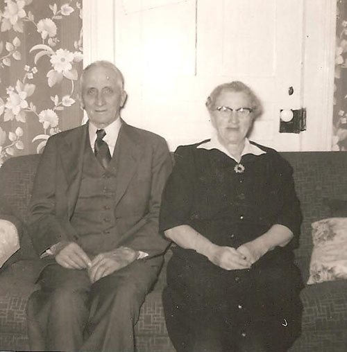 Ben and Martha Pochert