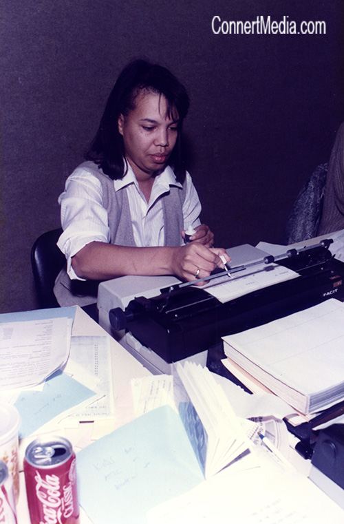 Donella Crawford - Yes, that's a typewriter.