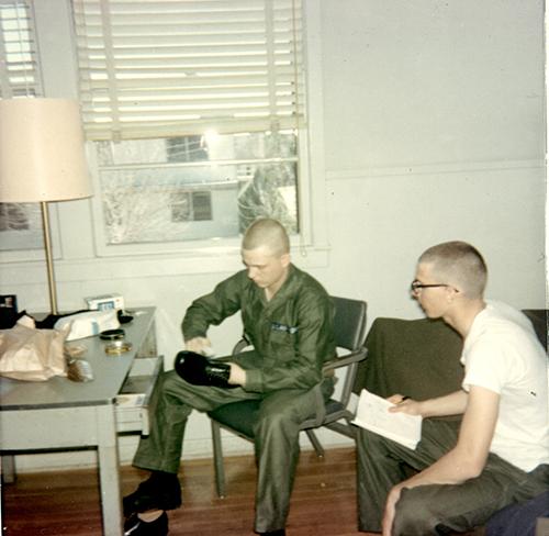 Terry Pochert - Lackland AFB, Texas - 1967