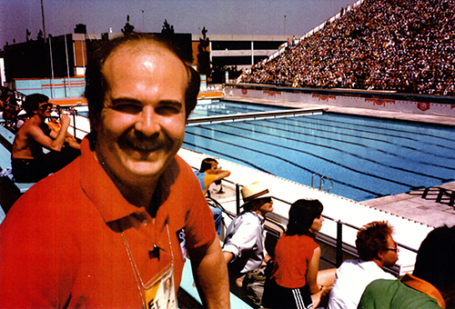 Terry Pochert at the 1984 Summer Olympics