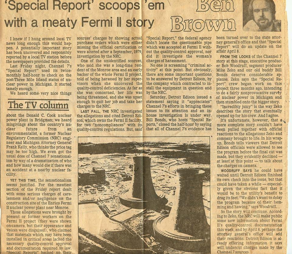 Fermi II Nuclear Plant