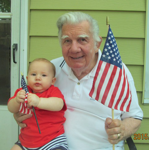 Art Fettig and grandson, Cy