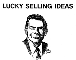 Selling Lucky by Art Fettig