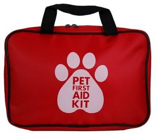 AKC Pet First Aid Kit, Red
