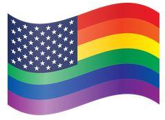 Gay Flag - Kim Davis