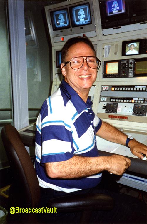 Eddie Dorfman in the Playback Room