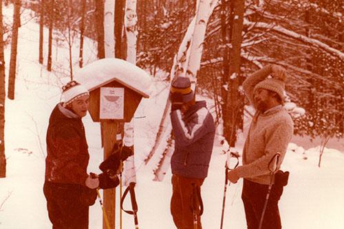 Cross Country Skiing near Empire, Michigan