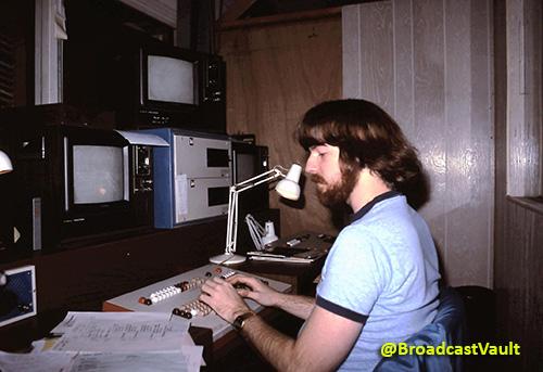 Dave Riley - Chyron Operator