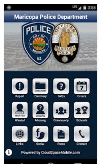 Maricopa Police Department App