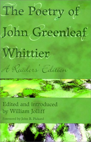 The Poetry of John Greenleaf Whittier