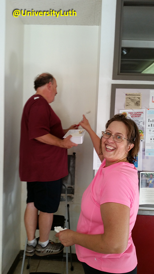 Painting Project at University Lutheran Church