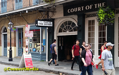 The Court of Two Sisters, New Orleans, Louisina - The French Quarter