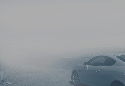 Driving in the fog..
