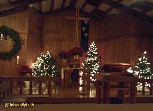 Christmas Eve - University Lutheran Church