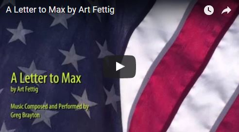 A Letter to Max by Art Fettig
