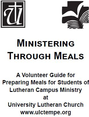 Ministering Through Meals